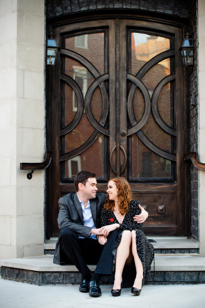south philadelphia engagement session